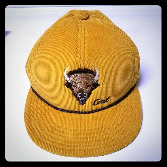 01ef53f9f Buffalo Corduroy Coal Hat